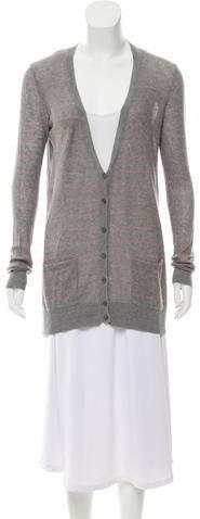 DKNY Long Sleeve Knit Cardigan