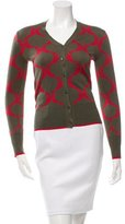 Sophie Theallet Patterned Silk Cardigan w/ Tags