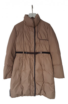 Henry Cotton Beige Polyester Coats