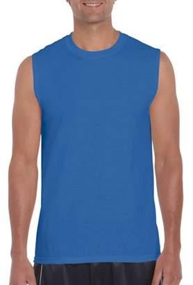 Gildan Big Men's Ultra Cotton Classic Sleeveless T-Shirt, 2XL