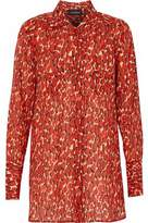 By Malene Birger Printed Cotton-Voile Shirt