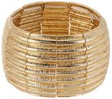 Natasha Accessories Textured Stretch Bracelet