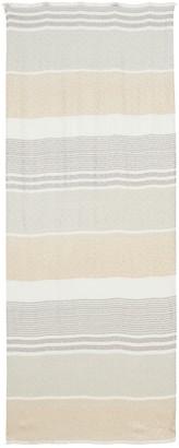Calvin Klein Stripe Monogram Pashmina