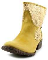 Groove Daisy Round Toe Synthetic Ankle Boot.