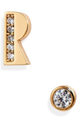 Kate Spade Initial Mismatched Stud Earrings