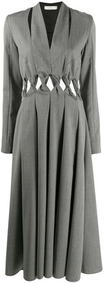 Litkovskaya Black Rose pleated dress