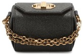 Alexander McQueen Mini Leather Box Bag - Black