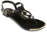Mossimo Women's Braided Metallic Sandal