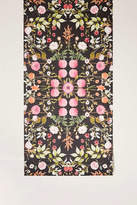 Urban Outfitters Daniella Midnight Floral Removable Wallpaper