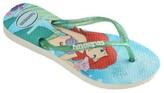 Havaianas Little Girl's & Girl's Disney Princess Ariel Flip Flops