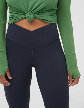 aerie OFFLINE Real Me High Waisted Crossover Legging
