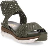 Salvatore Ferragamo Edam khaki braided sandal