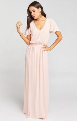 Show Me Your Mumu Michelle Flutter Maxi Dress