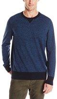 Nautica Men's Twisted Sweatshirt Crewneck Sweater