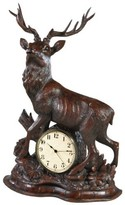 The Well Appointed House Large Stag Clock