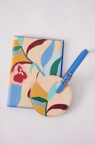 Anthropologie Home Darcy Luggage Tag & Passport Case
