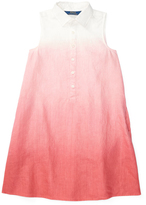 Ralph Lauren Salmon Berry Linen Dress - Girls