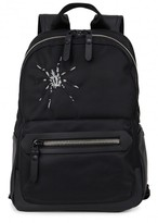 Lanvin Spider-embroidered Nylon Backpack