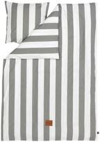 ferm LIVING Vertigo Bedding Set - Grey - 140x200 cm