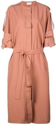 Lemaire strap details coat-dress