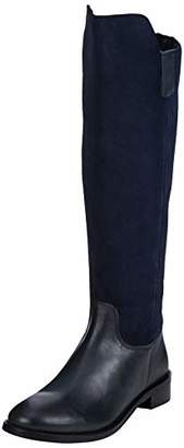 Hush Puppies Women's Alani High Boots, Black (Black Black), 6 (39 EU)