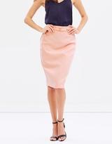 Dorothy Perkins Belted Pencil Skirt