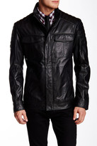 HUGO BOSS Askon Genuine Leather Jacket