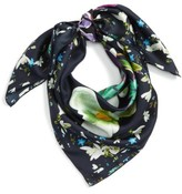 Ted Baker Women's Evella Entangled Enchantment Square Silk Scarf