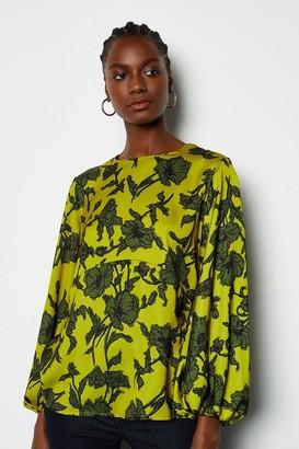 Print Full Sleeve Top