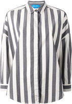 MiH Jeans Statement Stripe shirt - women - Cotton - XS