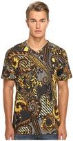 Versace Classic Lux V-Neck Men's T Shirt