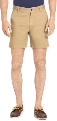 Izod Men's Saltwater Classic-Fit Chino Stretch Flat-Front Shorts