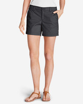 Eddie Bauer Women's Willit Poplin Shorts - Solid