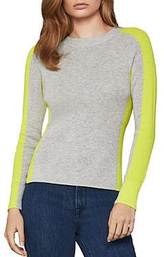 BCBGMAXAZRIA Paneled Sweater