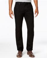 Tommy Hilfiger Men's Straight-Leg Black Wash Jeans