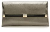 Diane von Furstenberg 440 Embossed Metallic Envelope Clutch