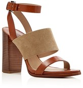 Michael Kors Rigby Two Band High Heel Sandals