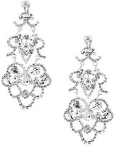 Cezanne Rhinestone Lace Chandelier Earrings