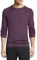 Vince Raglan-Sleeve Crewneck Sweater, Bright Red