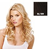 """Hairdo. by Jessica Simpson & Ken Paves 16"""" 1 Piece Clip-in Fineline Extension Chocolate Copper by"""