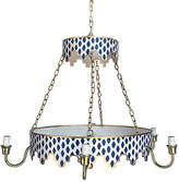 Dana Gibson Parsi Two-Tiered Chandelier - Navy