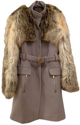 Gucci Grey Fur Coat for Women