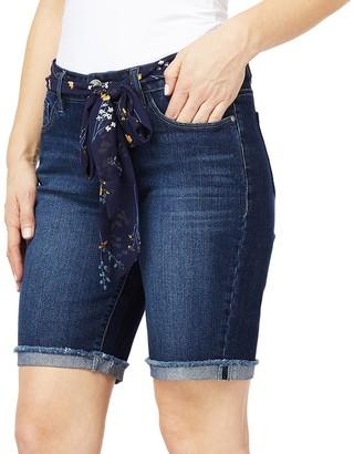 Angels Women's Signature Belted Bermuda Shorts