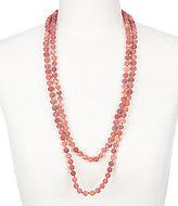 Barse Matte Agate Stone Wrap Necklace