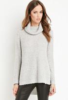 Forever 21 FOREVER 21+ Ribbed Turtleneck Sweater