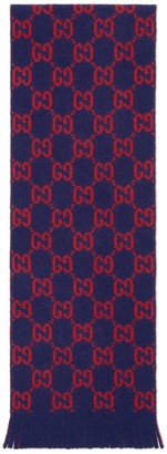 Gucci Children's GG wool scarf