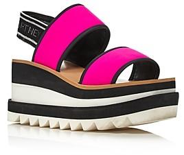 Stella McCartney Women's Platform Slingback Sandals