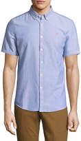 Farah Men's The Brewer Short Sleeve Button Down Shirt