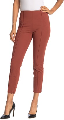 Theory Skinny Pleat Front Leggings
