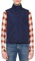 Maison Margiela Future High-Neck Vest, Navy